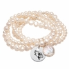 Illinois State Pearl Coin Bracelet