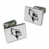 Illinois State Red Birds Sterling Silver Cuff Links