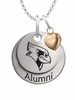 Illinois State Redbirds Alumni Necklace with Heart Accent