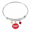 Illinois State Redbirds Bangle Bracelet