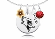 Illinois State Redbirds Cluster Necklace