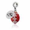 Illinois State Redbirds Football Dangle Charm