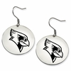 Illinois State Redbirds Satin Finished Disc Earrings