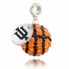 Indiana Hoosiers Crystal Drop Charm