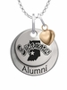 Indiana State Sycamores Alumni Necklace with Heart Accent