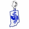 Indiana State Sycamores Logo Dangle Charm