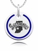 Indiana State Sycamores Round Enamel Charm
