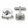 Indiana State Sycamores Stainless Steel Cufflinks