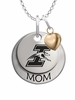 Indianapolis Greyhounds MOM Necklace with Heart Charm