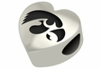 Iowa Hawkeyes Heart Shape Bead