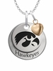 Iowa Hawkeyes with Heart Accent