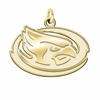 Iowa State Cyclones 14K Yellow Gold Natural Finish Cut Out Logo Charm