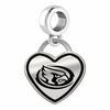 Iowa State Cyclones Border Heart Dangle Charm