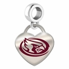 Iowa State Cyclones Color Heart Dangle