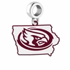 Iowa State Cyclones Logo Dangle Charm