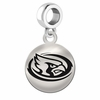 Iowa State Round Dangle Charm