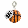 Jackson State Tigers Crystal Drop Charm