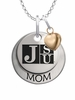 Jackson State Tigers MOM Necklace with Heart Charm