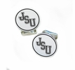 Jackson State Tigers Sterling Silver Cufflinks