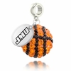 James Madison Crystal Drop Charm