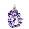 James Madison Dukes Logo Charm