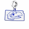 Kansas Jayhawks Logo Dangle Charm