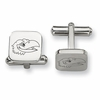 Kansas Jayhawks Stainless Steel Cufflinks