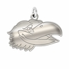 Kansas Jayhawks Natural Finish Charm