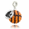 Kansas State Crystal Drop Charm