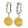 Kappa Alpha Theta Hoop Earrings