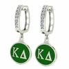 Kappa Delta Hoop Earrings