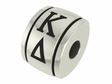 Kappa Delta Sorority Barrel Bead