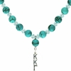 Kappa Kappa Gamma Lavaliere Drop Necklace