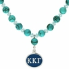 Kappa Kappa Gamma Turquoise Drop Necklace