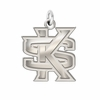 Kennesaw State Owls Natural Finish Charm