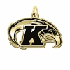 Kent State Golden Flashes 14KT Gold Charm