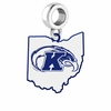 Kent State Golden Flashes Logo Dangle Charm