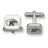 Kent State Golden Flashes Stainless Steel Cufflinks