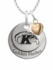Kent State Golden Flashes with Heart Accent