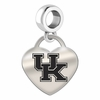 Kentucky Engraved Heart Dangle Charm