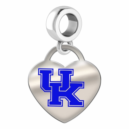 Kentucky Wildcats Color Heart Dangle