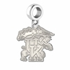 Kentucky Wildcats Natural Finish Dangle Charm