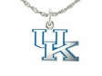 Kentucky Wildcats Silver UK Charm
