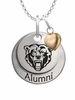 Kutztown Golden Bears Alumni Necklace with Heart Accent