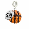 Kutztown Golden Bears Crystal Drop Charm