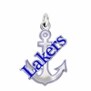 Lake Superior State Lakers Logo Charm