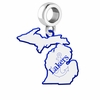 Lake Superior State Lakers Logo Dangle Charm