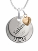 Lake Superior State Lakers MOM Necklace with Heart Charm