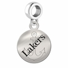 Lake Superior State Round Dangle Charm
