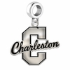 Charleston Cougars Logo Cut Out Dangle